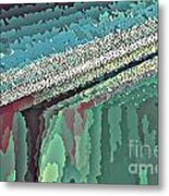 Cool Colors Abstraction Metal Print