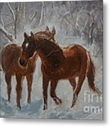 Cool Down Metal Print
