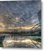 Cool Harbor Metal Print
