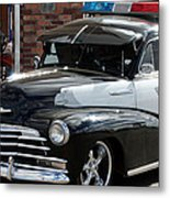 Cool Heat On The Street Metal Print