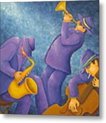 Cool Jazz Trio Metal Print