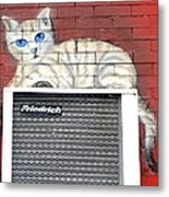 Cool Kitty Metal Print