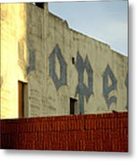 Coopers Ghost Sign 14476 Metal Print