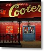 Cooters At Christmas Metal Print by Dan Sproul