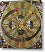 Copernican Universe Metal Print