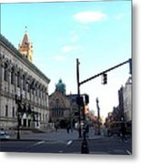 Copley Square - Old South Church Metal Print