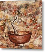 Copper Bowl Metal Print