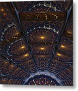 Copper Cathedral Metal Print