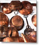 Copper - Featured In Inanimate Objects Group Metal Print