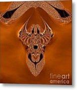 Copper Jewel Metal Print