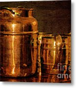 Copper Metal Print