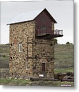 Copper Mine Enginehouse Metal Print
