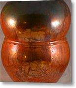 Copper Penny Gloss 2 Metal Print