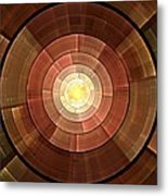 Copper Shield Metal Print