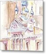 Coptic Church Beaunos Aires Metal Print