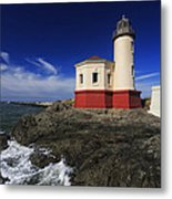 Coquille River Lighthouse 3 Metal Print