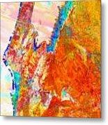 Coral Bay And Ningaloo Metal Print