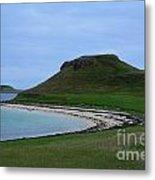 Coral Beach On The Isle Of Skye Metal Print