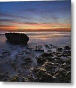 Coral Cove Beach At Dawn Metal Print