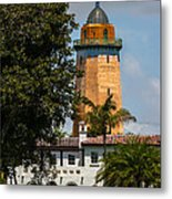 Coral Gables House And Water Tower Metal Print