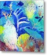 Coral Reef Dreams 3 Metal Print