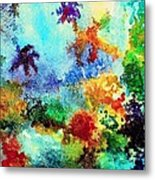 Coral Reef Impression 13 Metal Print