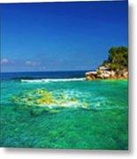 Coral Seas Haiti Metal Print