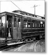 Corbin Park Street Car No. 175 - 1915 Metal Print