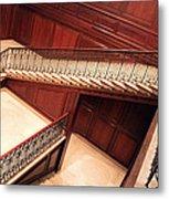 Corcoran Gallery Staircase Metal Print