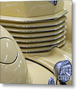 Cord 812 Oldtimer From 1937 Grill Metal Print