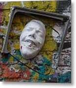 Cordal Semiframed Face  Metal Print