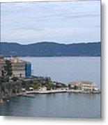 Corfu City 4 Metal Print
