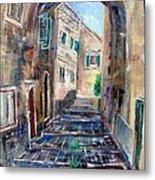 Corfu The Old Town . Metal Print