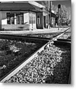 Corinth Station Metal Print