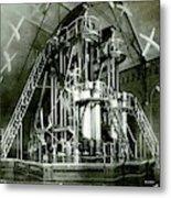 Corliss Exhibition Steam Engine Metal Print