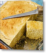 Corn Bread Metal Print