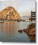 Corner Harbor Metal Print