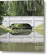 Corning Ny Denison Park Bridge Metal Print