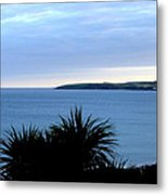 Cornwall Coast Subdued Sunset Metal Print