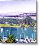 Coronado Bay Bridge Metal Print