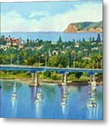 Coronado Island California Metal Print by Mary Helmreich