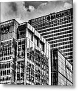 Corporate London Metal Print