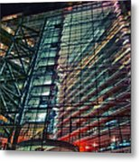 Corporation Metal Print