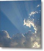 Corpuscular Rays Metal Print