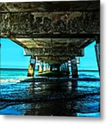 Corrosion Washed Metal Print