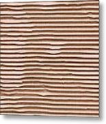 Corrugated Cardboard Metal Print