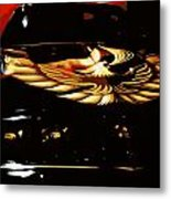 Trans Am Against Red Metal Print