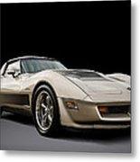Corvette C3 Metal Print