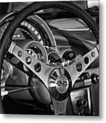 Corvette Cockpit Metal Print
