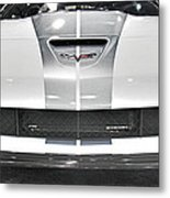 Corvette  Metal Print by Tom Gari Gallery-Three-Photography